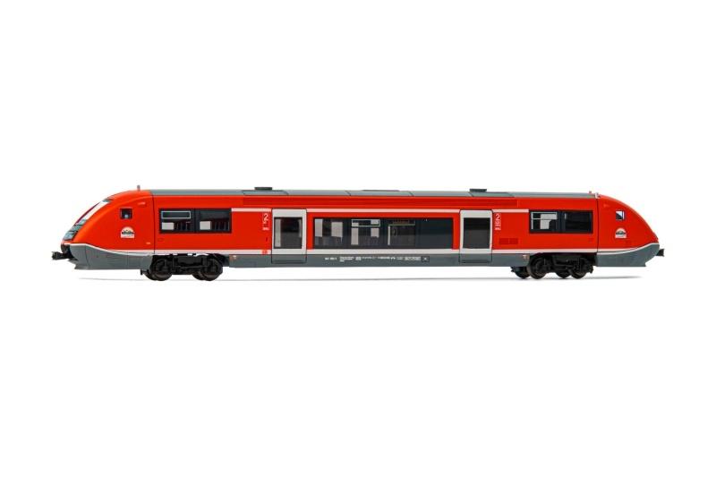 Dieseltriebwagen BR 641, DB AG, 3-Löwen Takt, Spur N