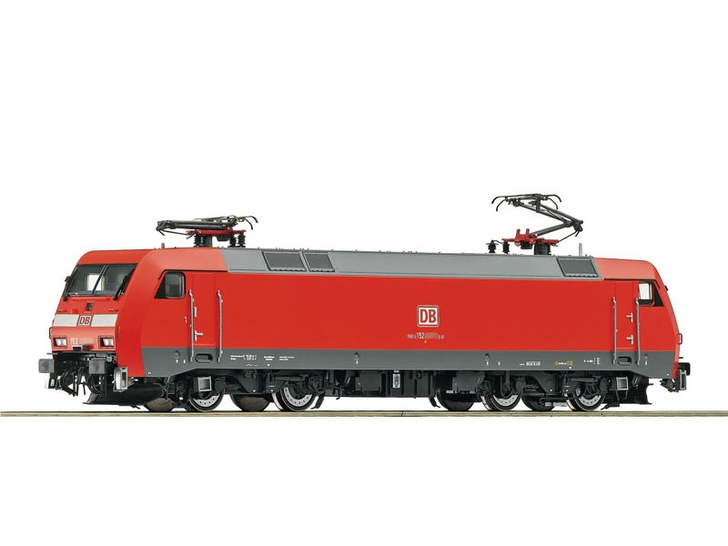 Elektrolokomotive BR 152 der DB AG, Sound, DC, Spur H0