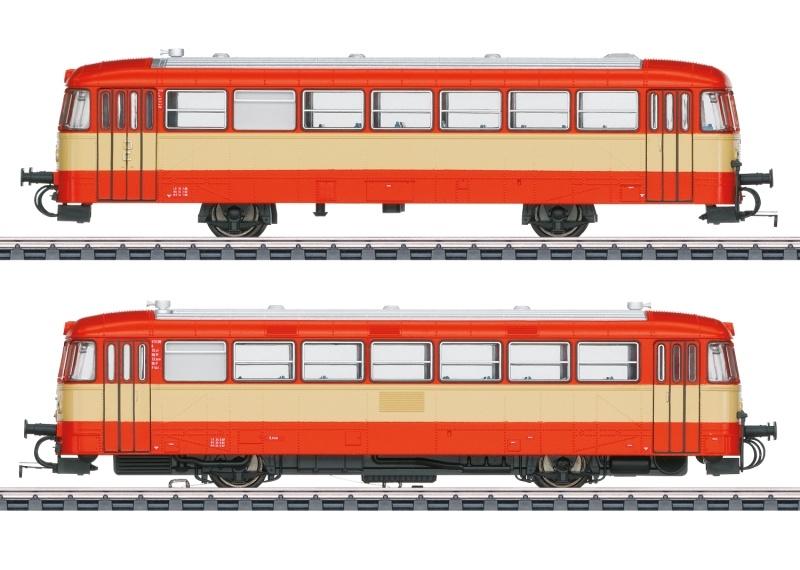 Triebwagen Baureihe VT 3.09 AKN, AC, mfx+, Spur H0