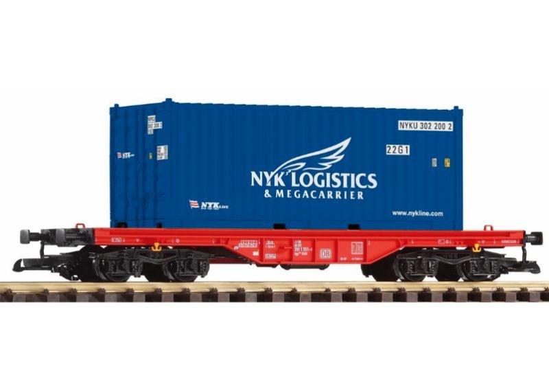 Flachwagen mit 20 Container NYK der DB, Epoche VI, Spur G