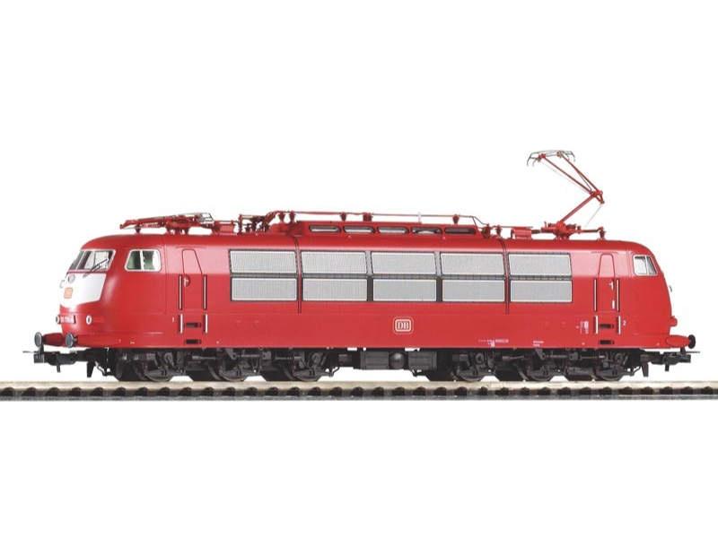 E-Lok BR 103 der DB, orientrot, kurze Ausführung, Ep.IV, H0
