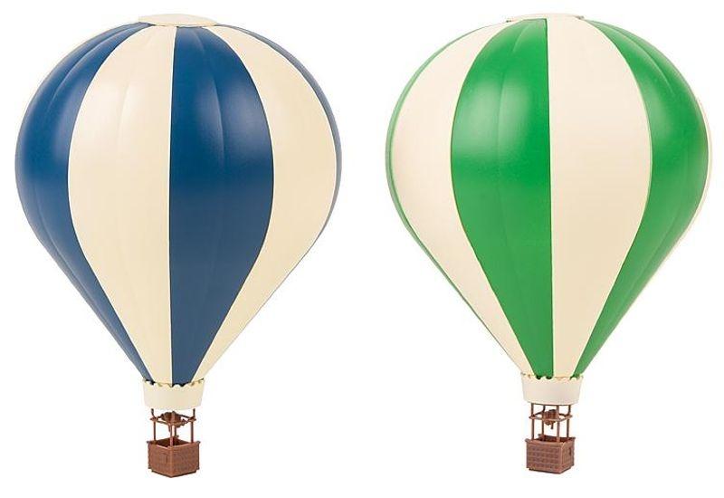 Aktions-Set 2 Heißluftballons, Bausatz, Spur N