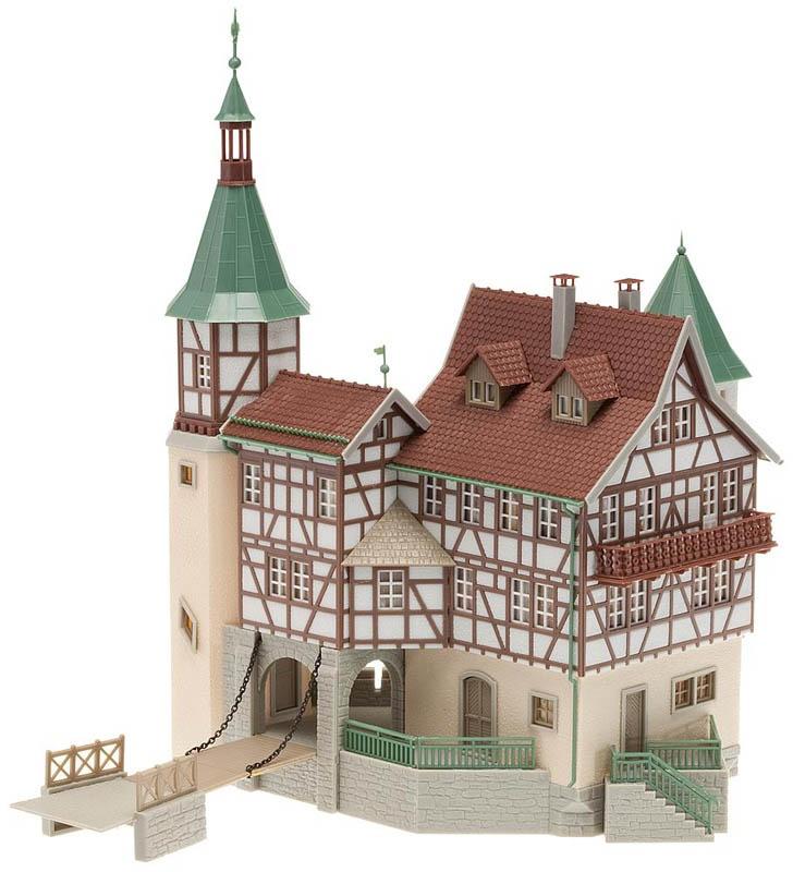 Jagdschloss Falkeneck Bausatz H0