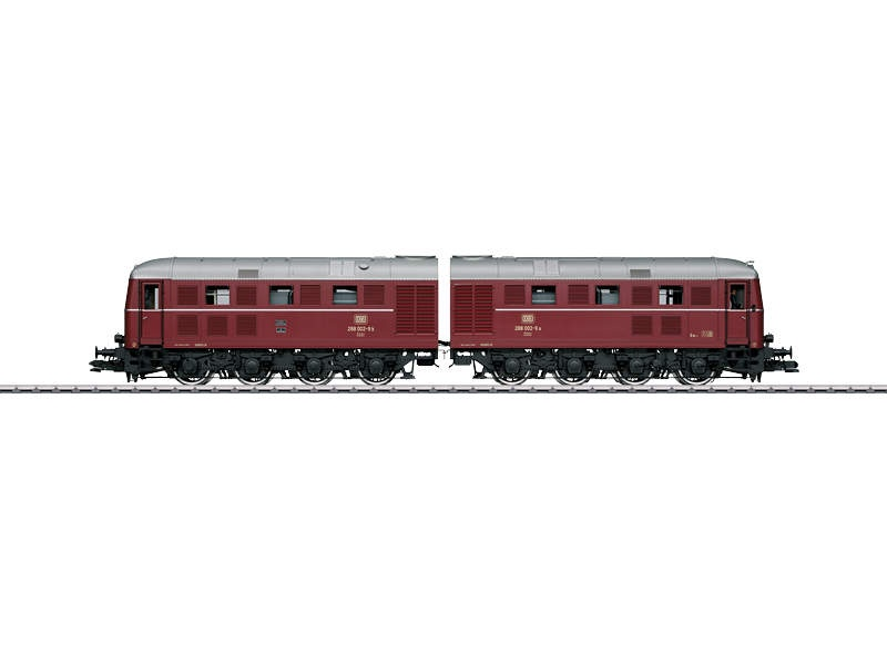 Doppel-Diesellokomotive BR 288 002-9 a/b DB Sound mfx Spur 1