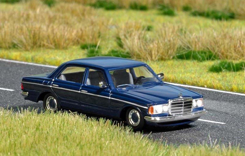 Mercedes-Benz W 123, Spur H0