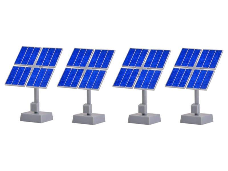 Deko-Set Photovoltaikanlage, Bausatz, Spur H0