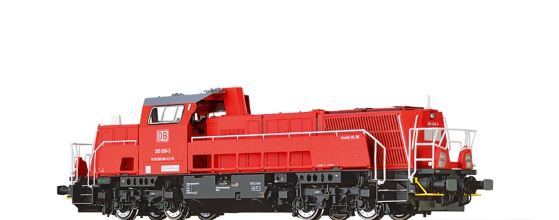 Diesellok Gravita 265 DB AG, VI, DC Digital EXTRA, Spur H0