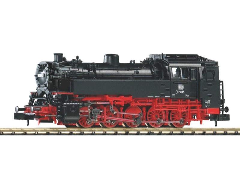 Dampflok BR82 der DB mit Oberflächenvorwärmer,Ep. III,Spur N