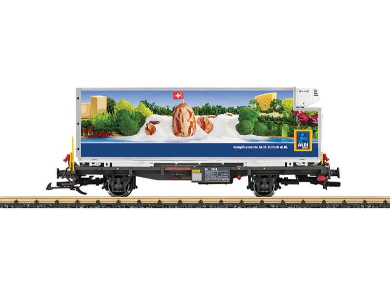 RhB Containerwagen Aldi Spur G