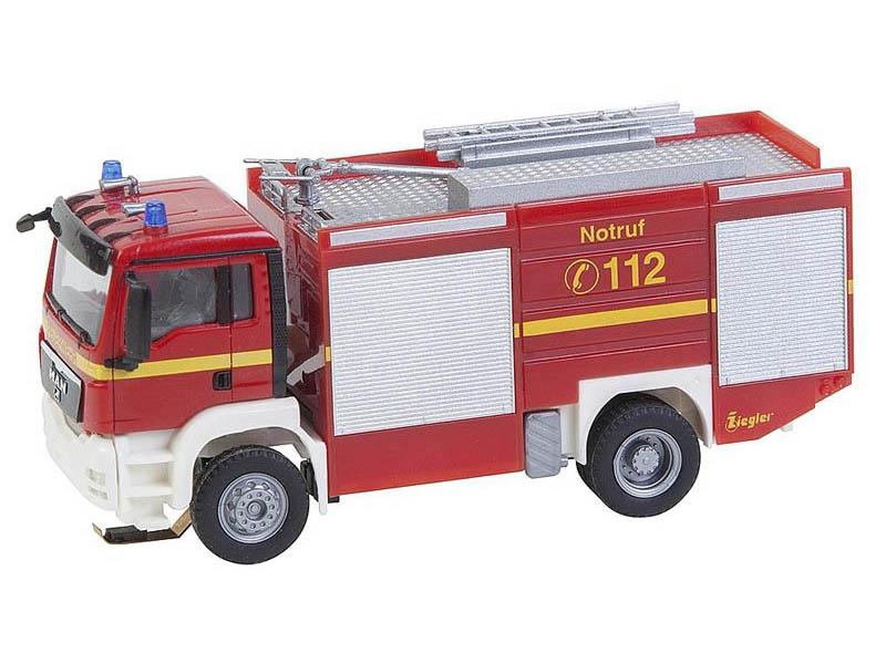 MAN TGS TLF Feuerwehr Car System (HERPA) H0