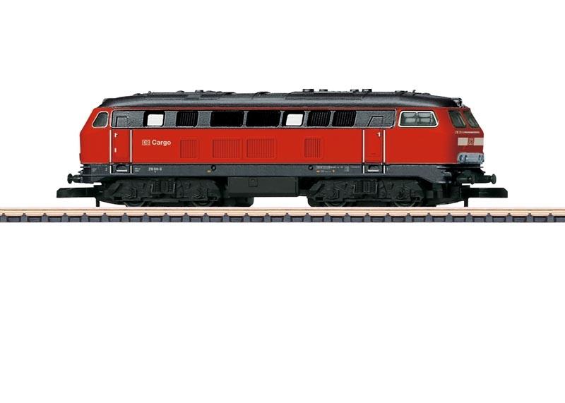 Diesellokomotive Baureihe 216 der DB Cargo, Spur Z