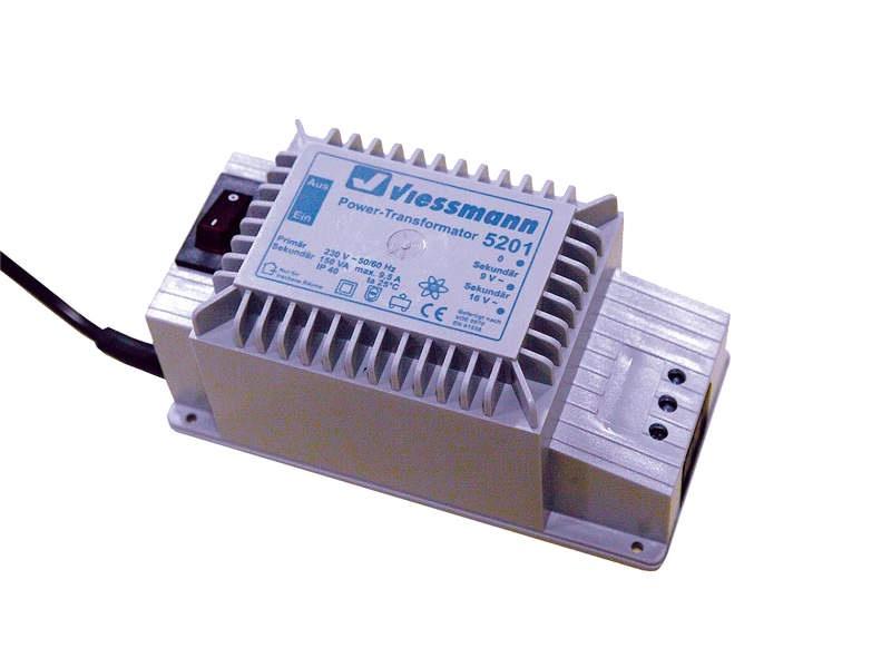 Power-Transformator 16 V, 150 VA, passend für alle Spuren