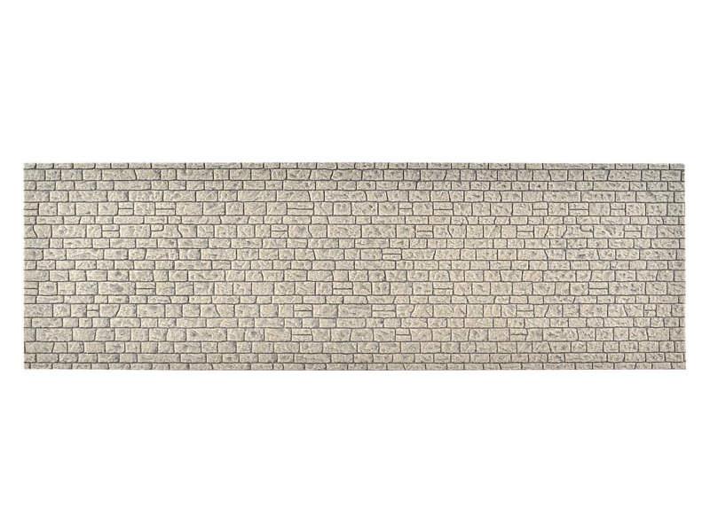 Mauerplatte Naturstein, L 54 x B 16,3 cm, Spur 0