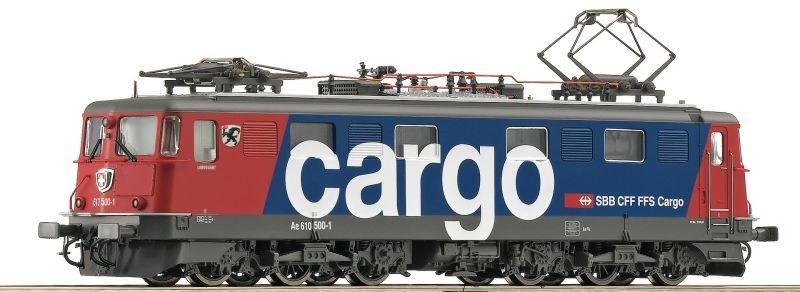 Elektrolokomotive Ae 610 500-1 der SBB Cargo, DC, Spur H0