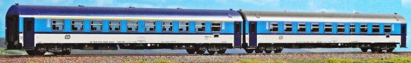 Personenwagen-Set Najbrt der CD, Epoche VI, Spur H0
