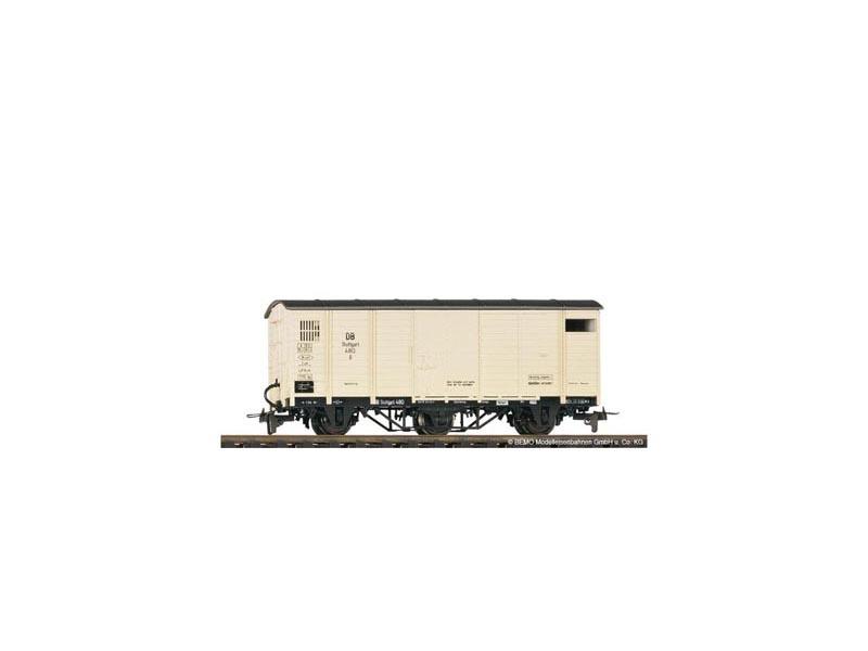 Gedeckter Güterwagen G 480 der DB, Spur H0e