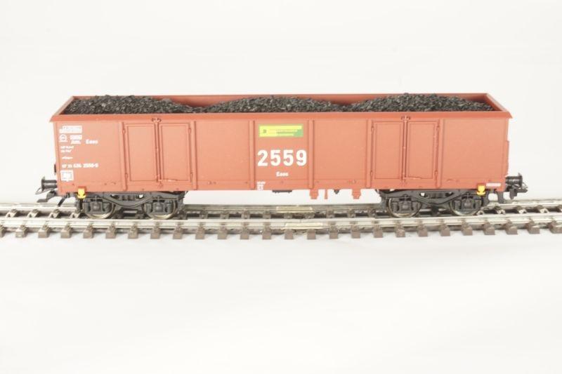 Sondermodell Offener Güterwagen Eaos der DE 2559 AC, Spur H0