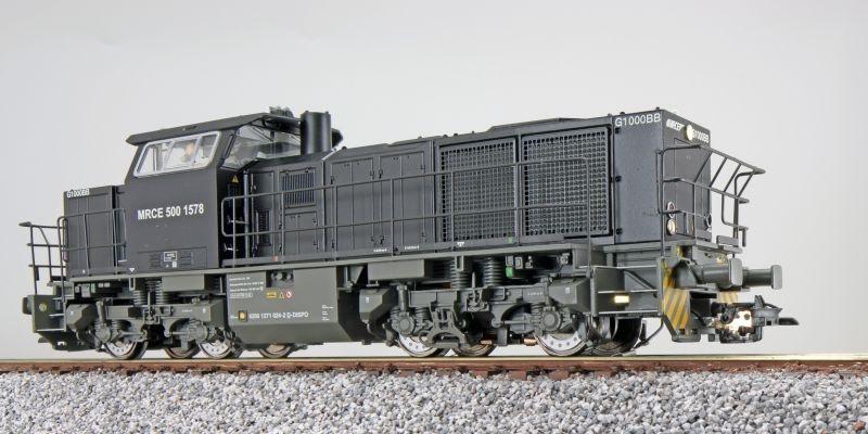 Diesellok, G1000, 500 1578 der MRCE, Sound, DC+AC, Spur H0
