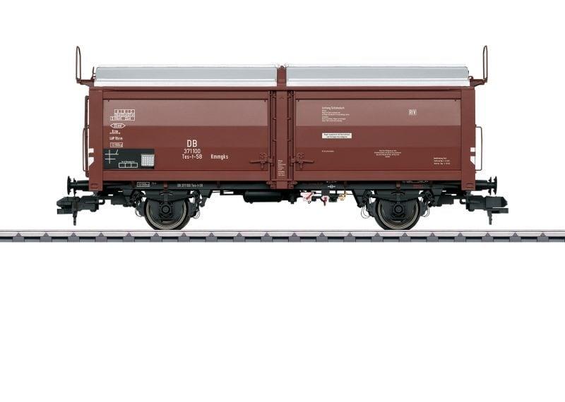 Schiebedach-/Schiebewandwagen Tes-t-58, DB, Spur 1