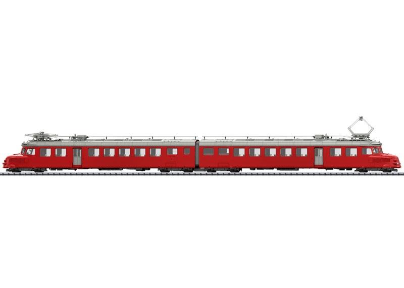 Doppel-Triebwagen RAe 4/8 Churchill, SBB, Sound, mfx, DC, H0