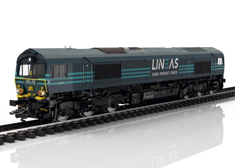 Diesellokomotive Class 66 der LINEAS, Sound mfx, DC, Spur H0