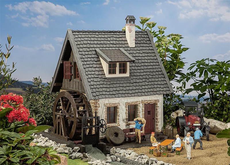 Wassermühle Bausatz G