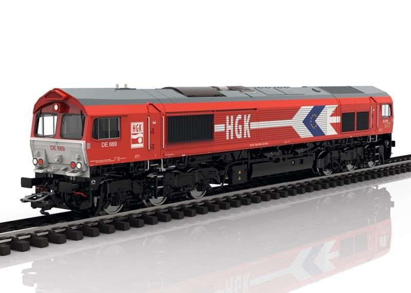Diesellokomotive Class 66 der HGK, Sound, mfx, DC, Spur H0