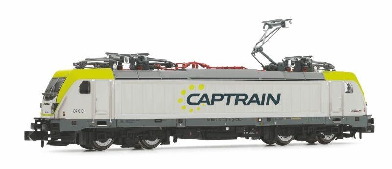 Elektrolokomotive Baureihe 187 der Captrain, Spur N