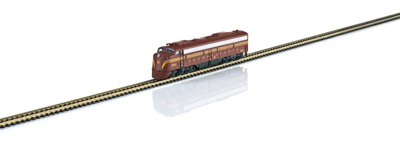 US-dieselelektrische Lokomotive E8A Pennsylvania RR Spur Z