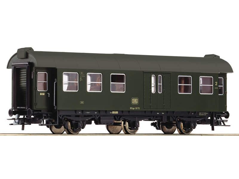 Umbauwagen 2. Kl. mit Packabteil DB H0