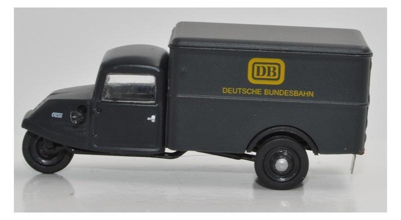 Goliath GD 750 Kastenwagen Deutsche Bundesbahn, 1:87 / H0