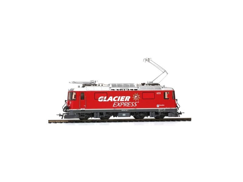 RhB GE 4/4 II 623 Werbelok Glacier-Express, Spur H0m