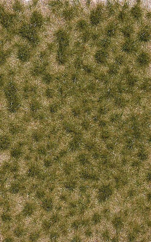 Grasbüschel, zweifarbig, lang Frühling, Graslänge: 6 mm