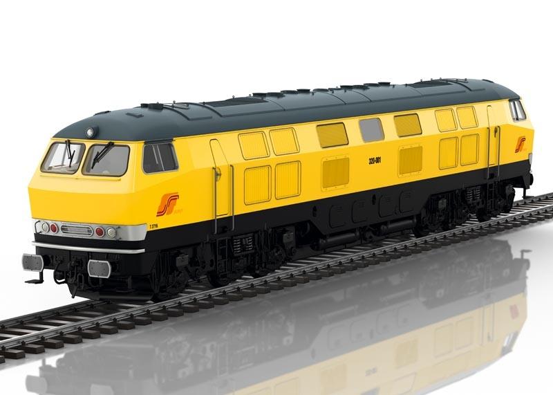 Diesellokomotive 320-001 der SerFer, Sound, mfx, DCC, Spur 1