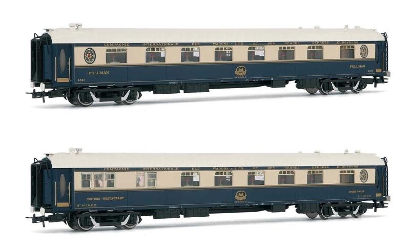 2-tlg. Set Speisewagen Venice Simplon Orient Express, H0