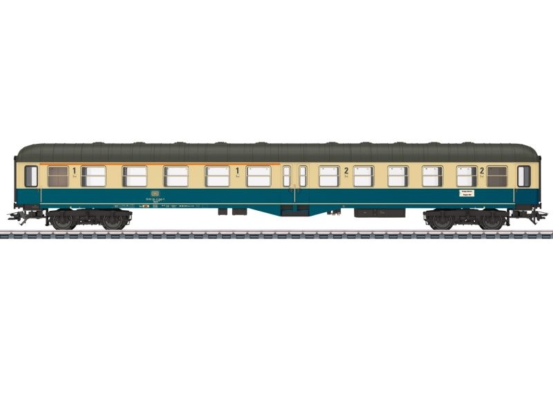 Personenwagen 1./2. Klasse ABylb 411 der DB, AC, Spur H0