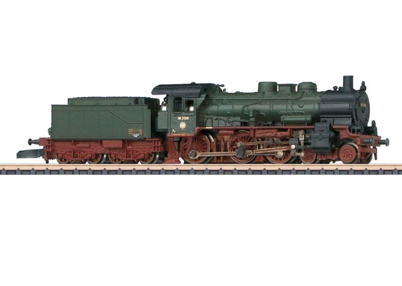 Dampflok BR 38 3199 SEH, Spur Z