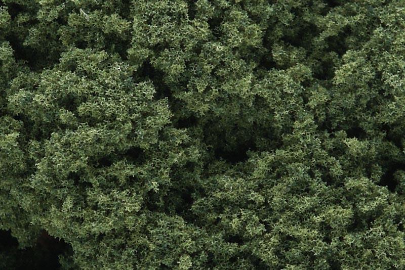 Foliage Clusters - Belaubungsflocken grob mittelgrün, 106 g