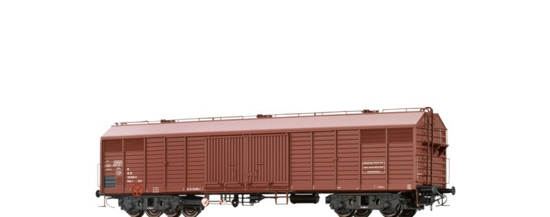 Gedeckter Güterwagen Gags-v der DR, DC, Spur H0