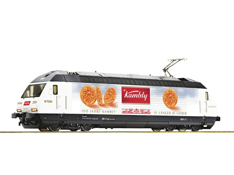E-Lok 465 004 der BLS Kambly, DC, Spur H0