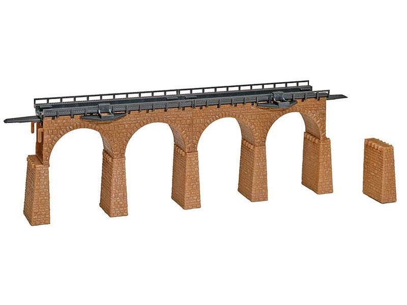 2 Viaduktbrücken, gerade Bausatz N
