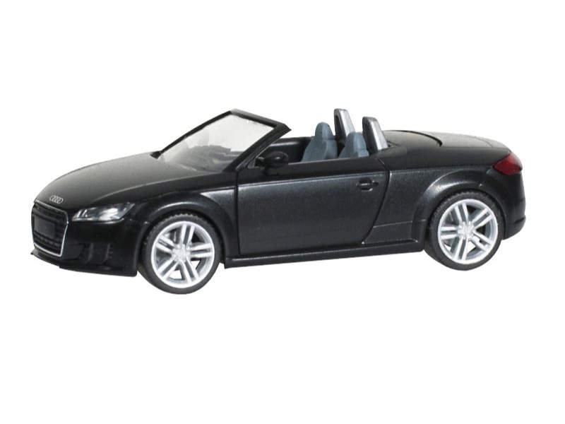 Audi TT Roadster, brillantschwarz, 1:87 / H0