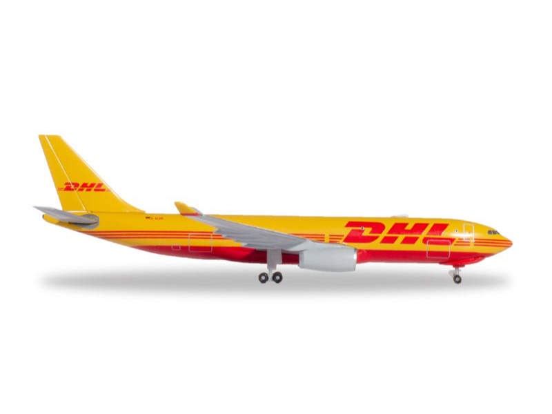 Airbus A330-200F DHL Aviation 1:500