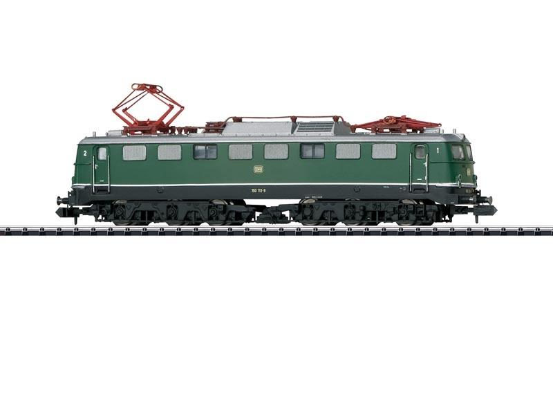 E-Lok BR 150 der DB, Sound, DCC, Minitrix Spur N