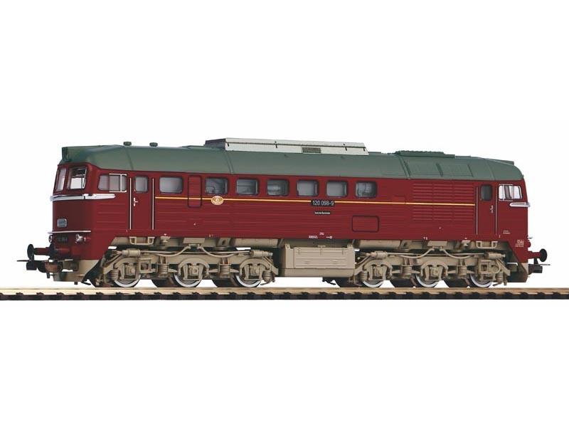 Diesellok BR 120 der DR, Ep. IV, Sound, DC, Spur H0