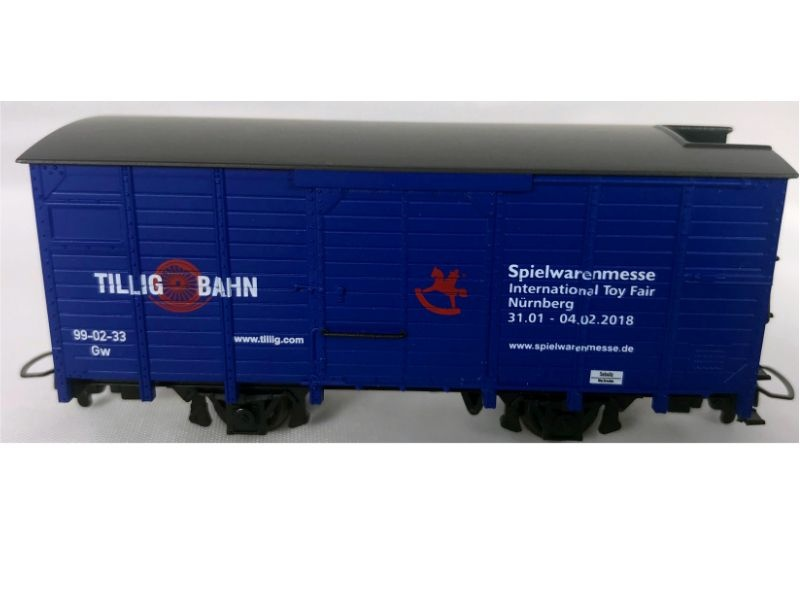 Gedeckter Güterwagen Gw Messemodell 2018, Spur H0m