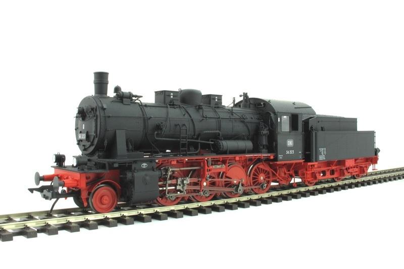 Dampflok BR 56 323 der DB, Ep. 3, Spur 0
