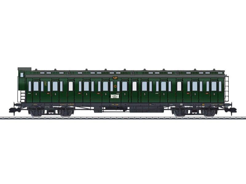 Abteilwagen C4 Pr 04 3. Klasse DRG Spur 1