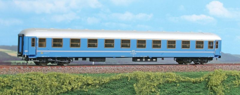 Personenwagen 1. Klasse Typ X 1964 der FS,Epoche IV, Spur H0
