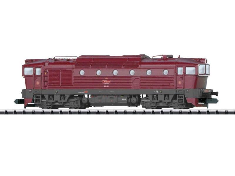 Diesellok T478.3 der CSD, Spur N